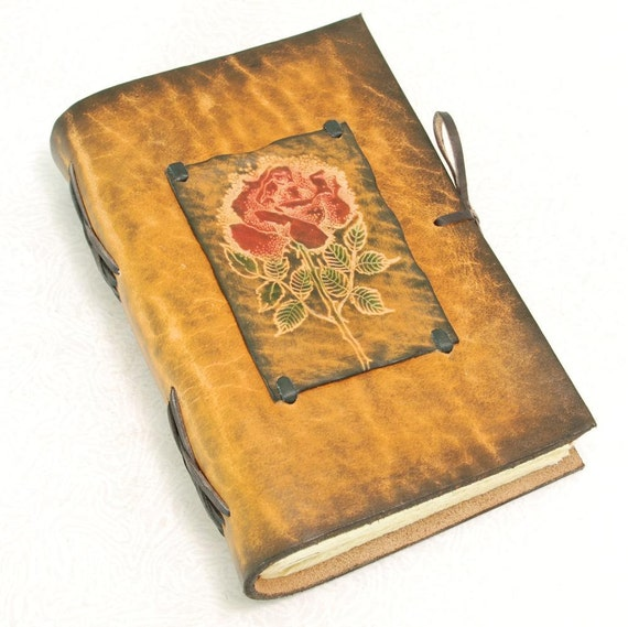 ROSE Leather Journal.