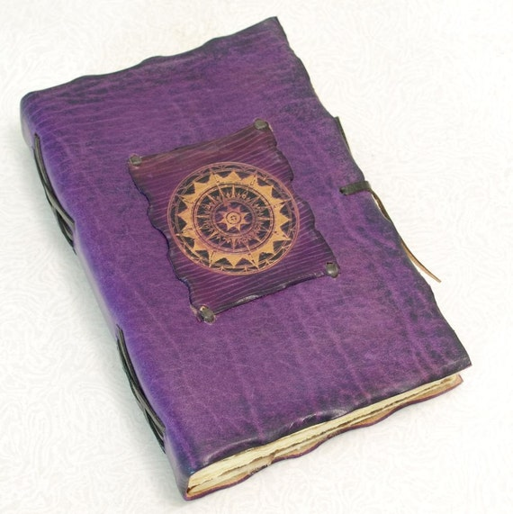 Compass Leather Journal.