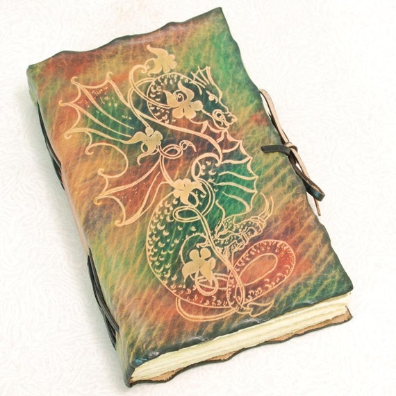 GREEN DRAGON, Leather Journal.