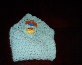Crochet Pattern - Pacifier/Teething Buddy