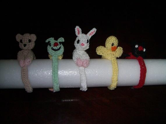Crochet Pattern Mini Animal Bracelets