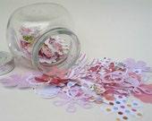 Scrappers Floral & Fiber Delight, Includes Jars