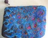 Nebulous Small Felted Clutch