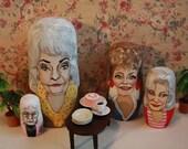 Golden Girls Nesting Dolls:  I