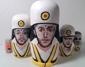 The Beastie Boys Intergalactic Nesting Dolls