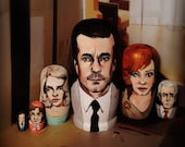 Mad Men Nesting Dolls
