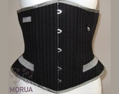 Steampunk waist coat corset made to measure.