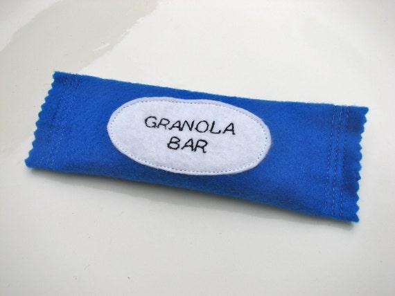 Felt Granola Bar - Blueberry - Felt, Play Food