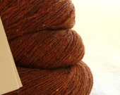 Pumpkin Spice Wool Camel Blend Recycled Lace Weight Yarn