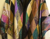 Metallic Colored   Leather Coat