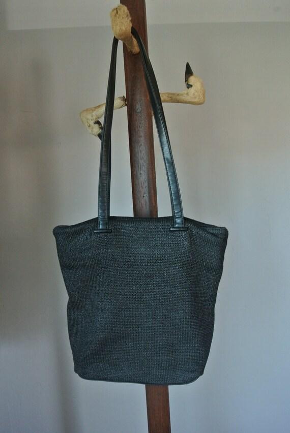 Vintage Slouchy Knit Purse