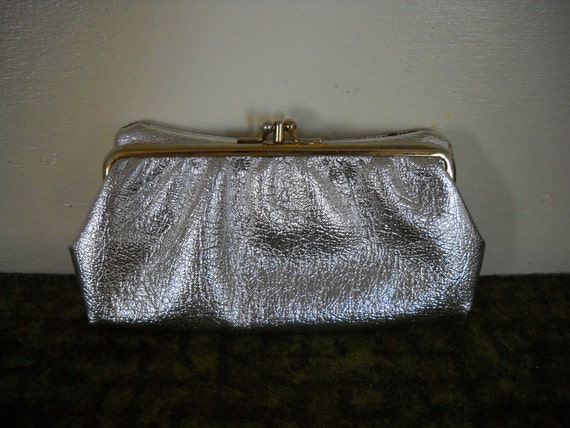 Stardust  - 1960's Cocktail Night Silver Clutch