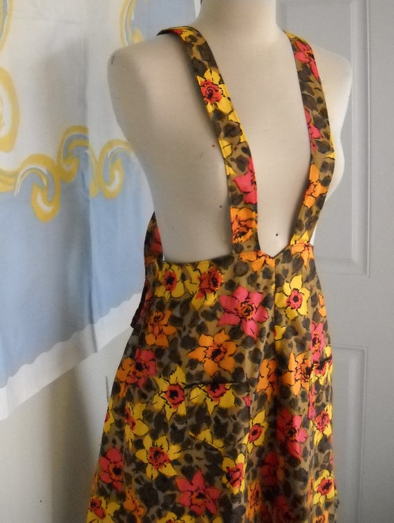 Daffodils and Saddle Shoes - 40's Repro Handmade Floral Jumper