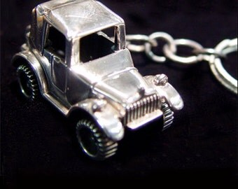 Sterling Silver Key Chain -Key Ring