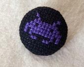 Purple Invader Pin