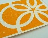 Circle Flow Card - Perfect Yellow