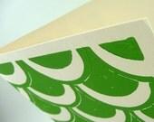 Retro Tile Card - Spring Green