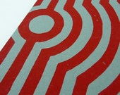 Radar Card - Blood Red