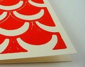 Tile Card - Super Orange