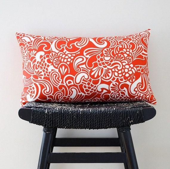 TSUNAMI Cotton Cushion Cover, Throw Pillow, 50 x 30 cm, 20 x 12 inch