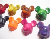Mouse Crayons - Lil Scribblers (TM) - Redesigned Crayons - Set of 9