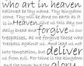 Illustration Print - The Lords Prayer
