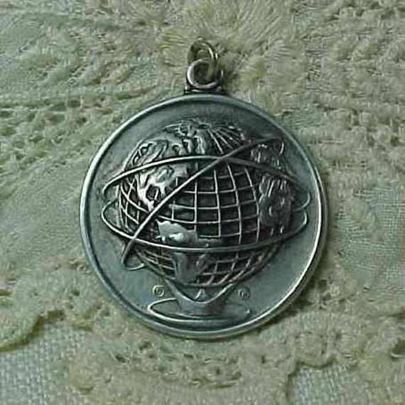 1964 1965 New York Worlds Fair Sterling Charm