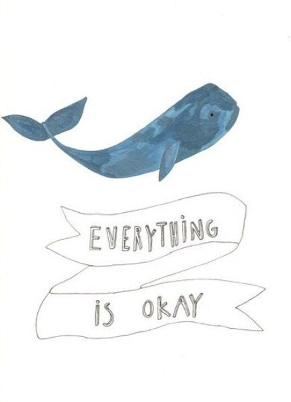 everything is okay print