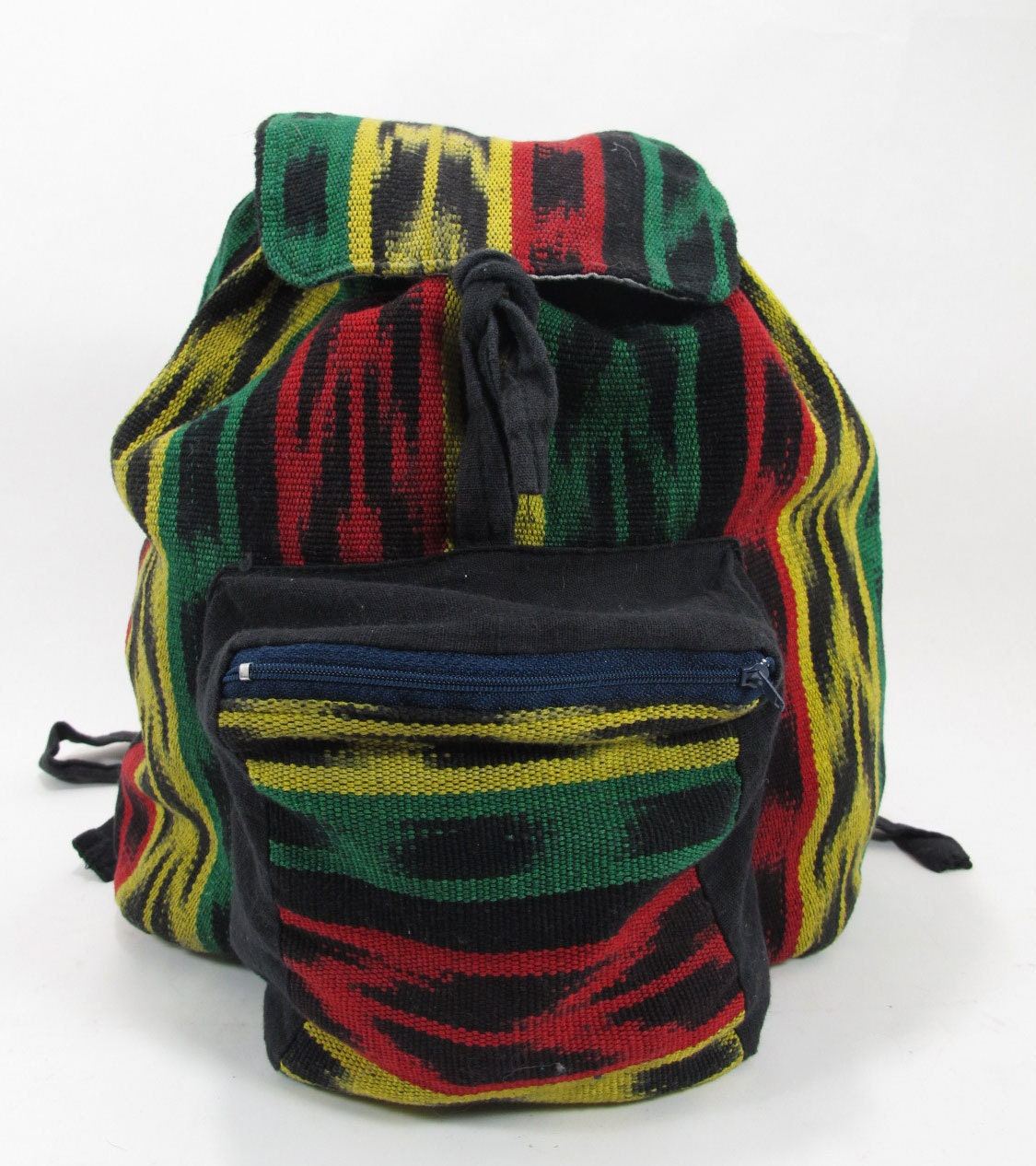 rasta guatemalan fabric mini backpack bag jamaica