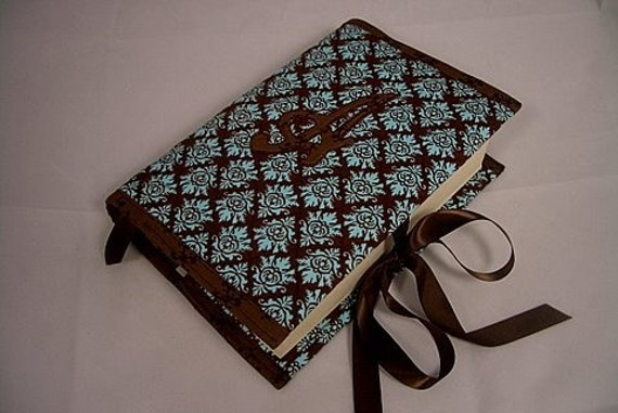 How To Make A Quilted Book Cover : Quilted book cover bible journal monogram