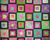 Red and Green all Year Art Quilt