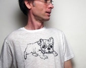 Bulldog Thread Drawing Tee- Unisex