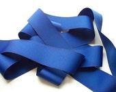 1 1/2 Inch Royal Blue Grosgrain Ribbon- 4 yards