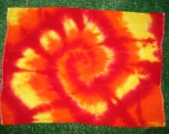 Tie Dyed Burp Cloth Diaper