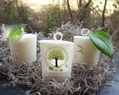 NEW Organic COOKIE JAR vegan all natural soybean votive candle pure essential oils holiday fall winter earthy eco green aromatherapy