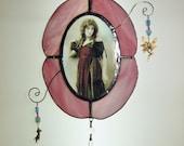Vintage Vignette - no.1 - Stained glass trinket