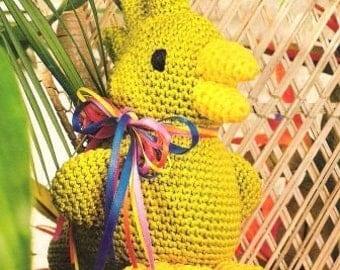 Vintage Crochet Pattern - Parrot