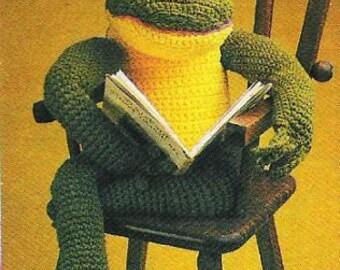 Vintage Crochet Frog Prince