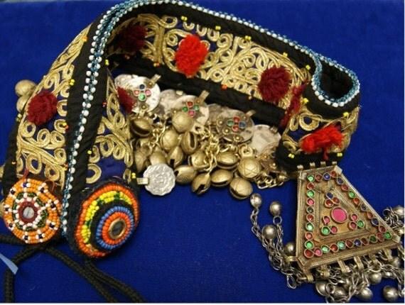 Vintage Belt Tribal Kuchi Bellydance Costume