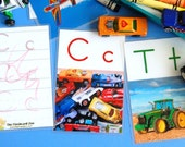 BOY Alphabet Flashcards (double-sided)