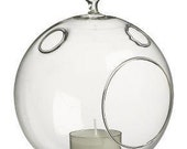 4.5 Inch Hanging Glass Globe, Perfect for Terrariums and Candles
