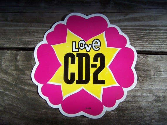 Vintage Decal Love CD - 2