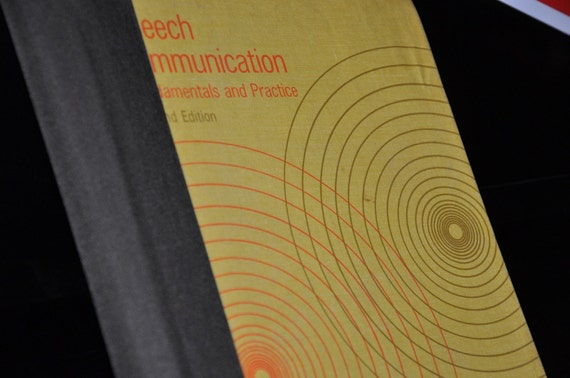 Upcycled 2012 Planner--Speech Communication Textbook