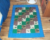 Create Your Own Custom Character Themed  Baby Toddler Quilts