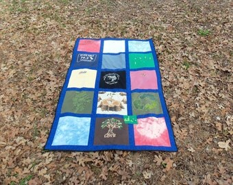 Go Green and Create a Custom Made for you Quilt from Your Tshirts
