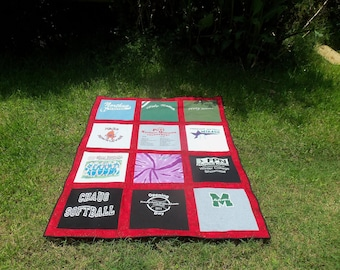 Create a Memory Quilt for your Child out of  Tshirts