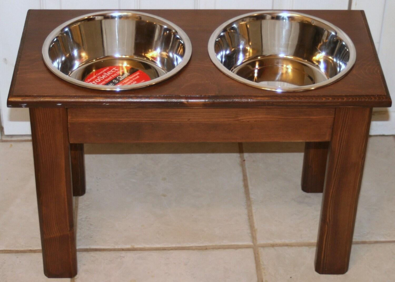 Raised Elevated Dog Food Dish Bowl Large Stand New feed - photo#34