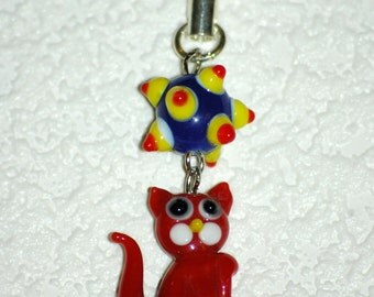 Red Cat Charm