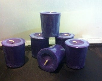 Lilac Soy Votives - 6 pack