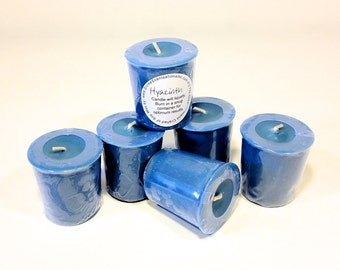 6 Pack Fragrant Hyacinth Soy Votives
